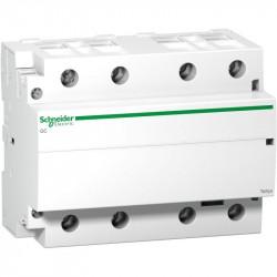 Contactor modular Schneider GC10040M5 - CONTACTOR 100 A - 4 NO - coil 220...240 V AC