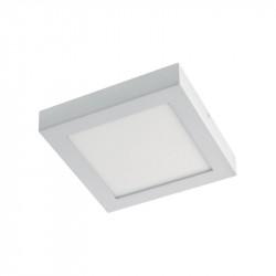 Corp de iluminat Arelux XCase FMQ220CW MWH - Corp LED aplicat patrat 6000K 220mm 22W (5f)