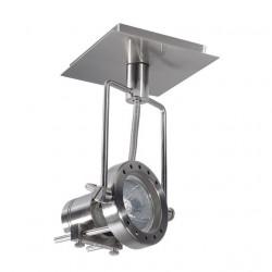Corp iluminat Kanlux 4795 SONDA EL-1L - Plafoniera GU10, max 50W, IP20, inox