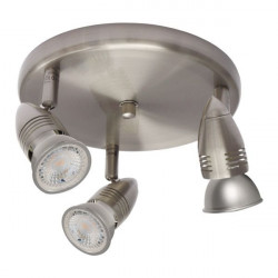 Corp iluminat Kanlux 7087 MOLI EL-3O - Aplica, GU10, 3xmax 50W, IP20, inox