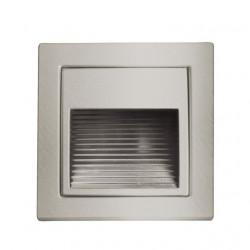 Corp iluminat Kanlux 7711 GORAN700 POWER LED - Aplica iluminat trepte, led, 2,5W, 6000k, IP20, argintiu