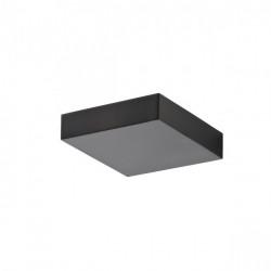 Corp iluminat Redo 01-1326 Board - Aplica led, 6W, 3000k, 1374lm, IP20, 14x14cm, negru mat