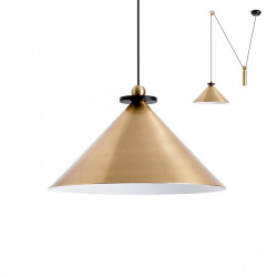 Corp iluminat Redo 01-1545 Kalimba - Lustra, max 1x42W, IP20, E27, bronz periat