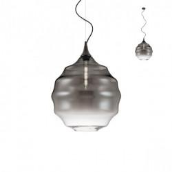 Corp iluminat Redo 01-1845 Slick - Lustra, max 1x42W, E27, IP20, sticlă suflată fumuriu degrade.