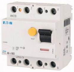 Intrerupator automat Eaton ME293175 - PF4-40/4/003, 40A, 4P