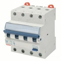 Intrerupator automat Gewiss GW94267 - COMPACT RCBO 4P C16 4.5KA A/0.03 4M