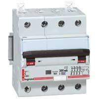 Intrerupator automat Legrand 007977 - LICHIDARE-PO- DX, DISJ. DIF 4P, C, 16A,300MA