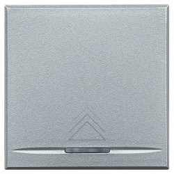 Intrerupator Bticino HC4582 Living Light - Variator, comanda tactila, rezistiv/inductiv 50W-1000W, 2M, 250V, argintiu