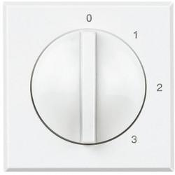 Intrerupator Bticino HD4016 Axolute - Intrerupator 4 pozitii, 3A, 250V, alb