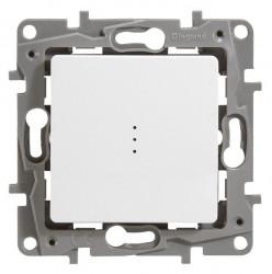 Intrerupator Legrand 664716 Niloe - Intrerupator cap-scara cu indicator, 16AX, alb