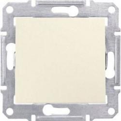 Intrerupator Schnedier SDN0400423 Sedna - INTRERUPATOR CAP SCARA, 16 AX - 250 V CREM