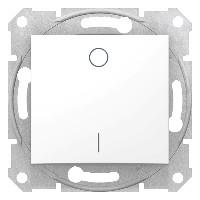 Intrerupator Schneider SDN0200221 Sedna - Intrerupator bipolar, 16 AX - 250 V alb