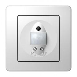 Intrerupator Tem EE32PW-B Ekonomik - Senzor miscare IR alb stralucitor