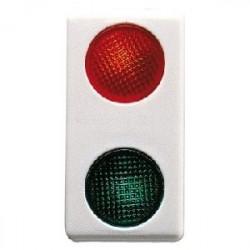 Lampa semnalizare Gewiss GW20607 System - Indicator dublu rosu/verde