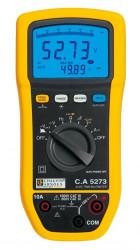 Multimetru Chauvin Arnoux CA 5273 - Multimetru digital AC/DC TRMS IP54