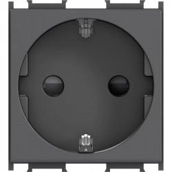 Priza Tem VM10SB-B Modul - Priza simpla CP 2m negru