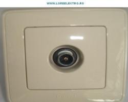Priza TV Legrand 773980 Cariva - PRIZA TV DE TRECERE CONECTOR TATA , UNIV