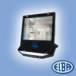 Proiector HID Elba 30671113 - LUXOR-01 IP66, IK06 400W halogenuri metalice, reflector simetric