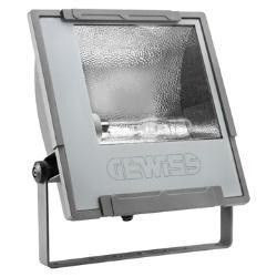 Proiector HID Gewiss GW85423M - MERCURIO 2 C/L AS.400W MT 230V IP65 GR.
