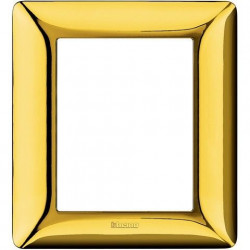 Rama Bticino AM4826GOR Matix - Rama 6 (3+3) module auriu lucios