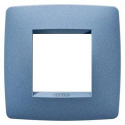 Rama Gewiss GW16122VB Chorus -Rama One International, 1P, 2M, oriz, termoplastic, albastru marin