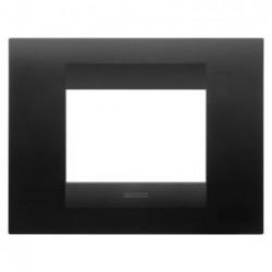Rama Gewiss GW16403VN Chorus - Rama Geo, 3M, tehnopolimer oriz, negru satin