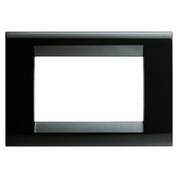 Rama Gewiss GW32056 Playbus - Rama Playbus 6M, oriz, tehnopolimer, negru toner