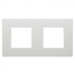 Rama Gewiss GW35902AG Dahlia - Rama 2 posturi, light grey