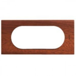 Rama Legrand 69225 Celiane - Rama 4/5 module, din lemn, mahon