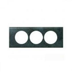 Rama Legrand 69279 Celiane - Rama metalica, 3 posturi, interax 57mm, cupru oxidat