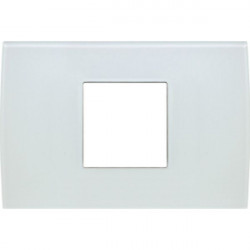 Rama Tem OP23GW-U Modul - Rama din sticla decorativa Pure 2/3m alb gheata