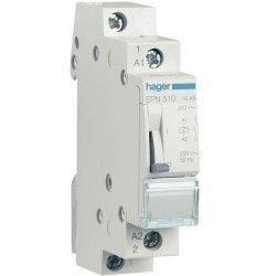 Releu Hager EPE520 - Releu de impuls (pas cu pas) ,110V-230V, AC/DC, 16A
