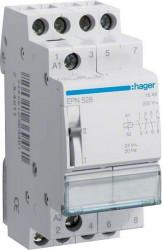 Releu Hager EPN528 - Releu de impuls (pas cu pas) 12V-24V, AC/DC, 16A