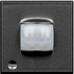 Senzor miscare Bticino HS4610 Axolute - Senzor infrarosu pasiv cu detectie volumetrica , 2M, raza de actiune 8m, 230V, 2A, negru