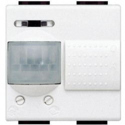 Senzor miscare Bticino N4432/127 Living Light - Senzor de miscare, 110V, 2A, 2M, alb