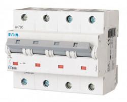 Siguranta automata Eaton 248091 - DISJUNCTOR PLHT-C80/4 15-25kA 4P, 80A, C