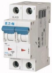 Siguranta automata Eaton 263360 - DSIJUNCTOR PL7-C20/2 2P, 20A, 10kA, C