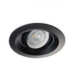 Spot Kanlux 26743 COLIE DTO - Inel spot directional incastrat LED GU10, max 35W, IP 20, negru