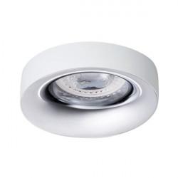 Spot Kanlux 27806 Elnis - Spot incastrat LED GU10, max 35W, alb/crom