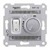 Termostat Schneider SDN6000360 Sedna - Termostat de camera 10 A - 230 V, aluminiu