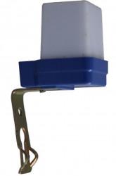 Total Green TG-1102.01 Senzor Crepuscular - FOTOSENZOR 6A/max.1000W, alb