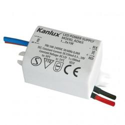 Transformator Kanlux 1440 ADI - Transformator electronic LED 10V, 350mA, 1x3W