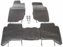 Set covorase cauciuc Toyota Hilux VII Pick-up 2005 - 2015
