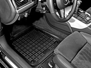 Set covorase cauciuc bej Audi Q3 2011 - 2018