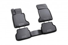Set covorase cauciuc Audi A8 Long 2002 - 2010