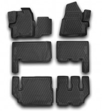 Set covorase cauciuc Ford Tourneo Custom 2012 - 2019