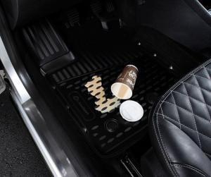 Set covorase cauciuc Nissan Navara D40 ( Double cab ) Pick-up automata 2010 - 2015