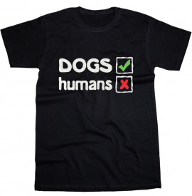 Tricou Dogs/Humans