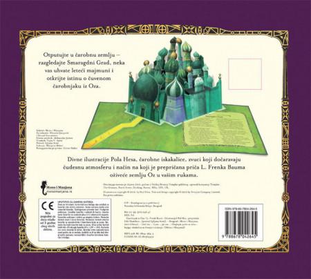 Čarobnjak iz Oza - pop up (3d) bajka sa zvukovima - L Frenk Baum i Pol His