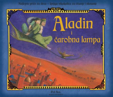 Aladin i čarobna lampa - pop up (3d) - bajka sa zvukovima